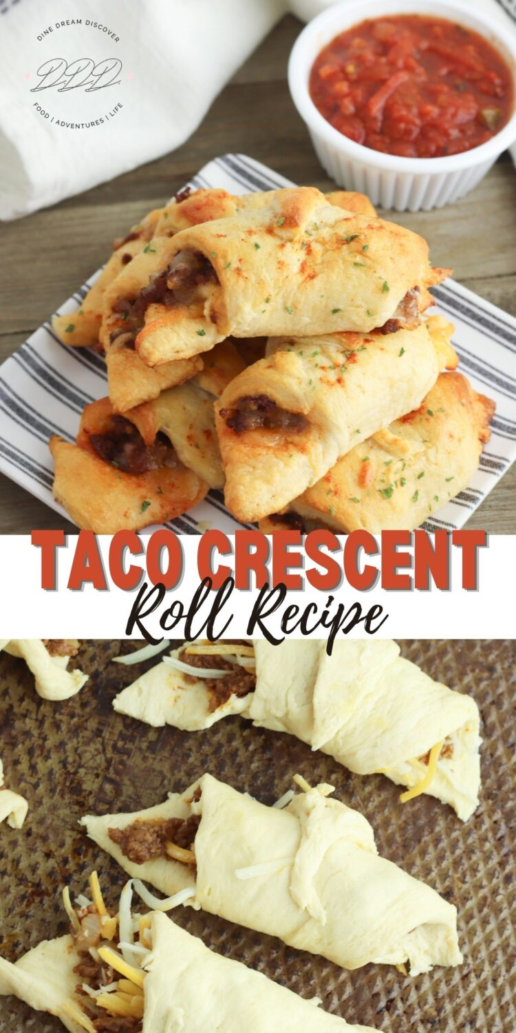 taco stuffed crescent rolls
