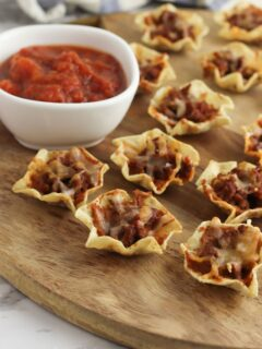 Tortilla Nacho Cups Recipe