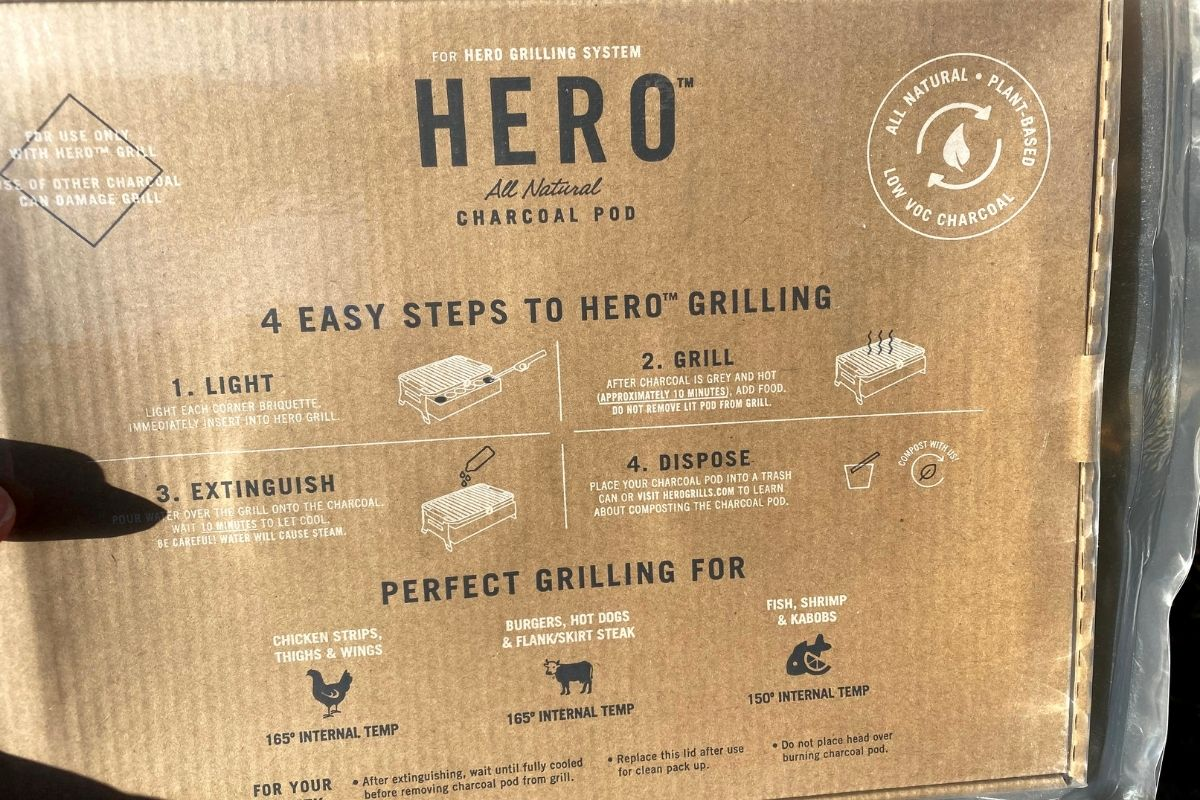 hero grill directions