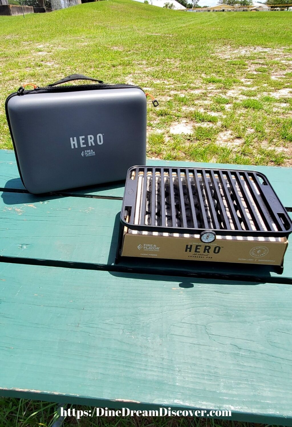 Fire and Flavor HERO Grill Portable Grill