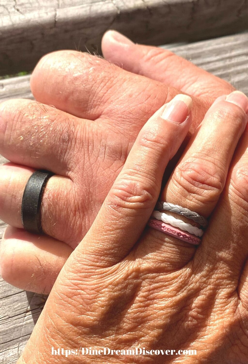 Groove Life Silicone Rings for Mom and Dad