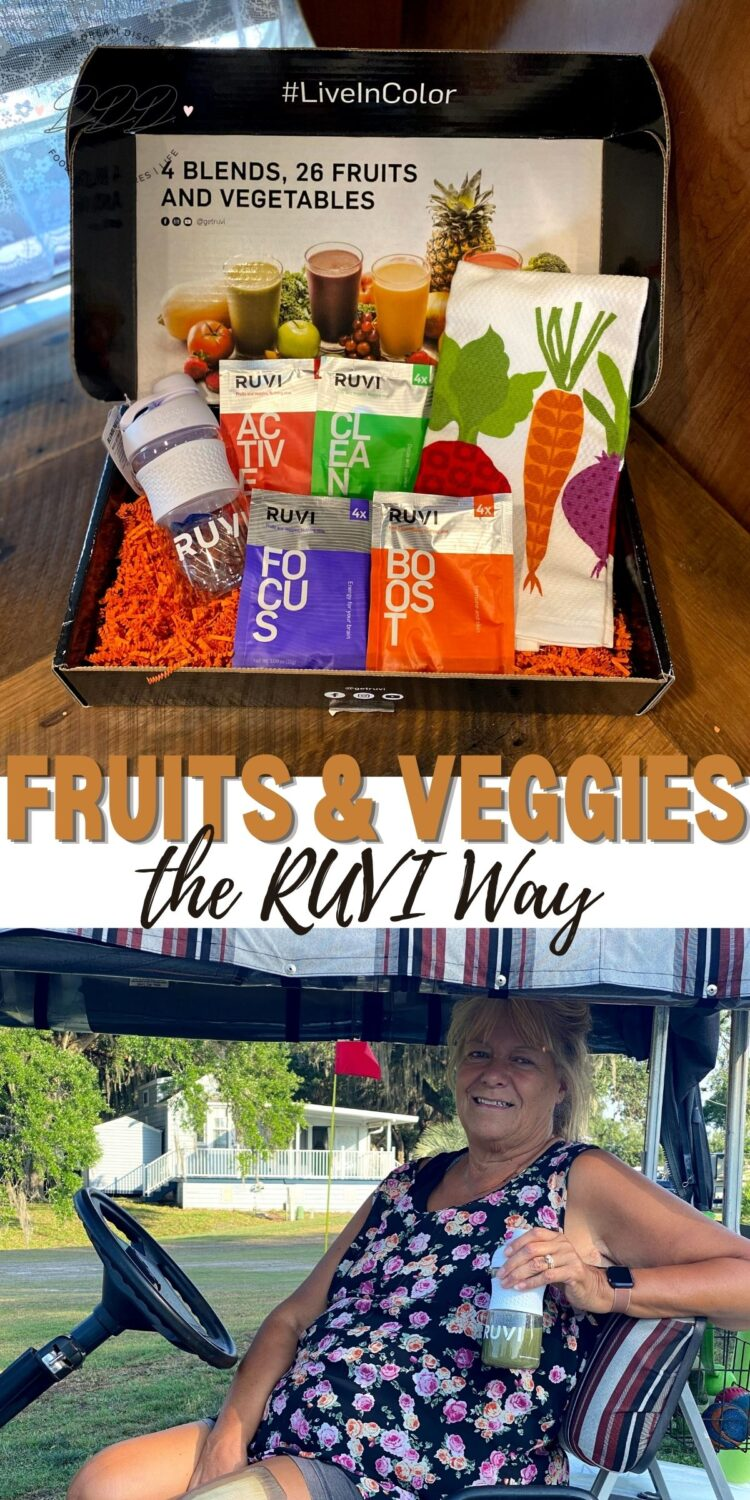RUVI - The Easy Way to Add Fruits and Vegetables