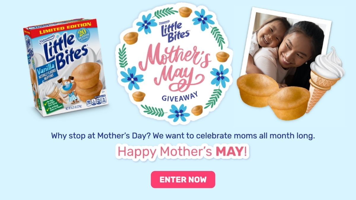 mother's may giveaway