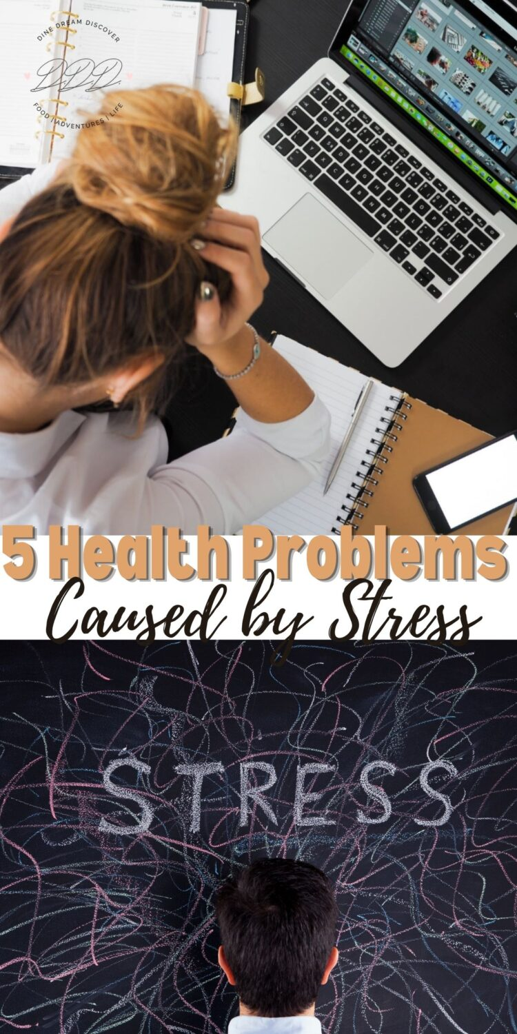 5 Health Problems That Are Caused By Stress