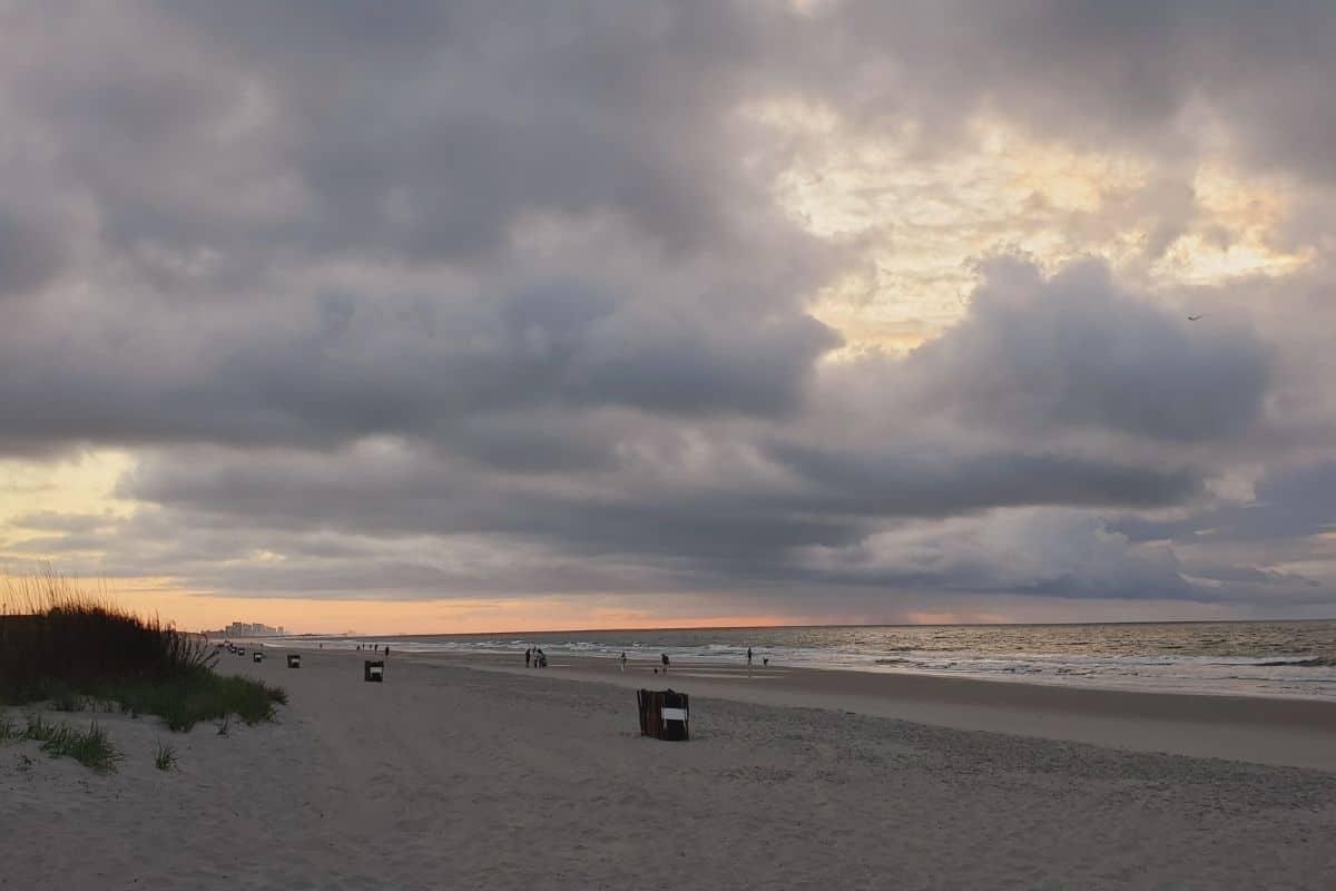SUNRISE ON THE MYRTLE BEACH