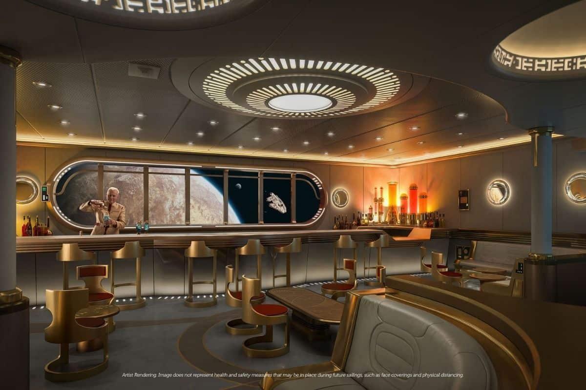 star wars lounge disney wish