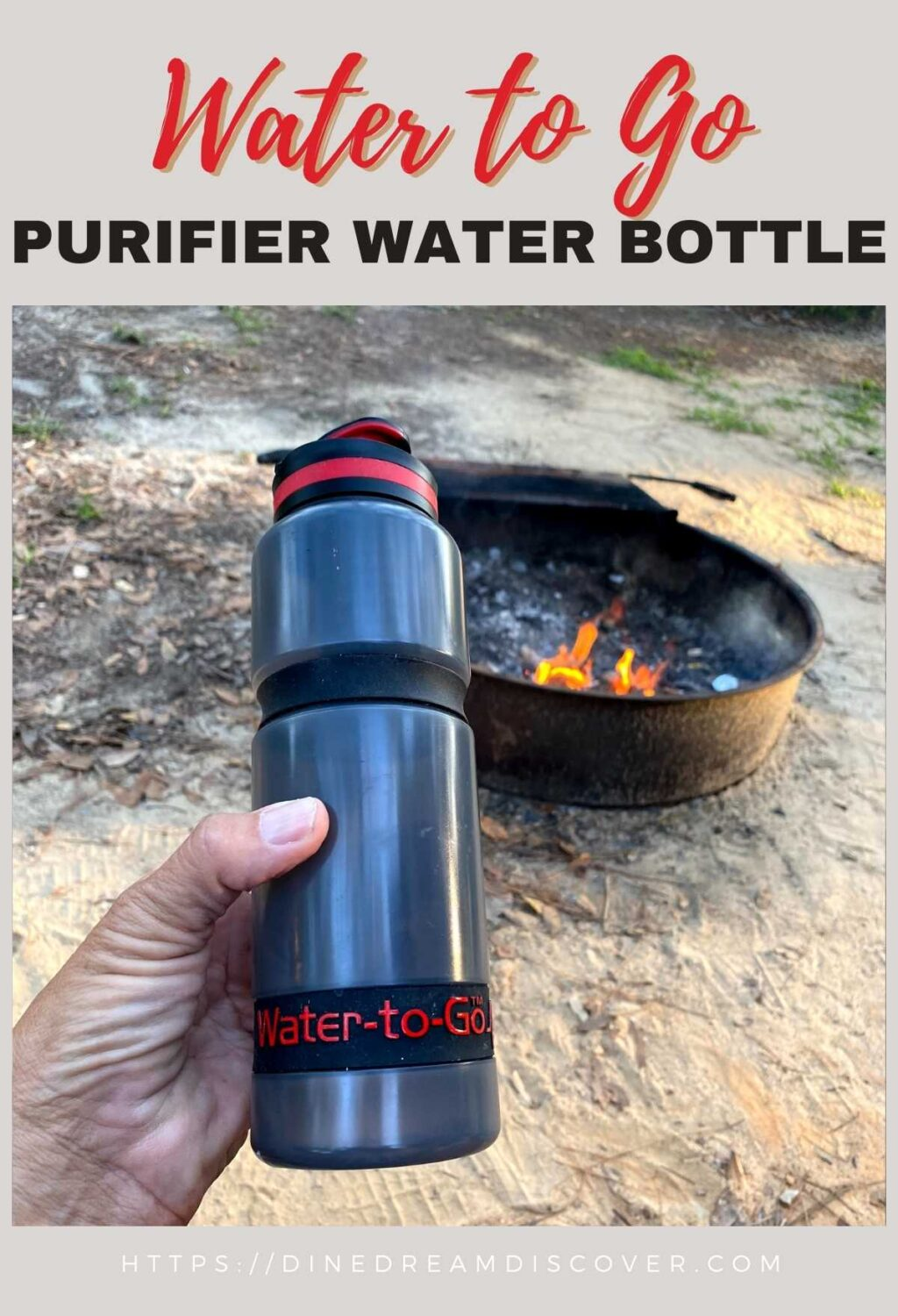 Water to Go Water Bottle