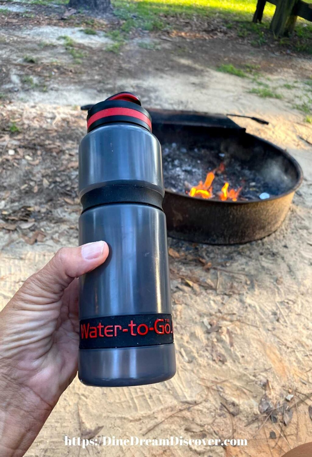 Water to Go active Bottle