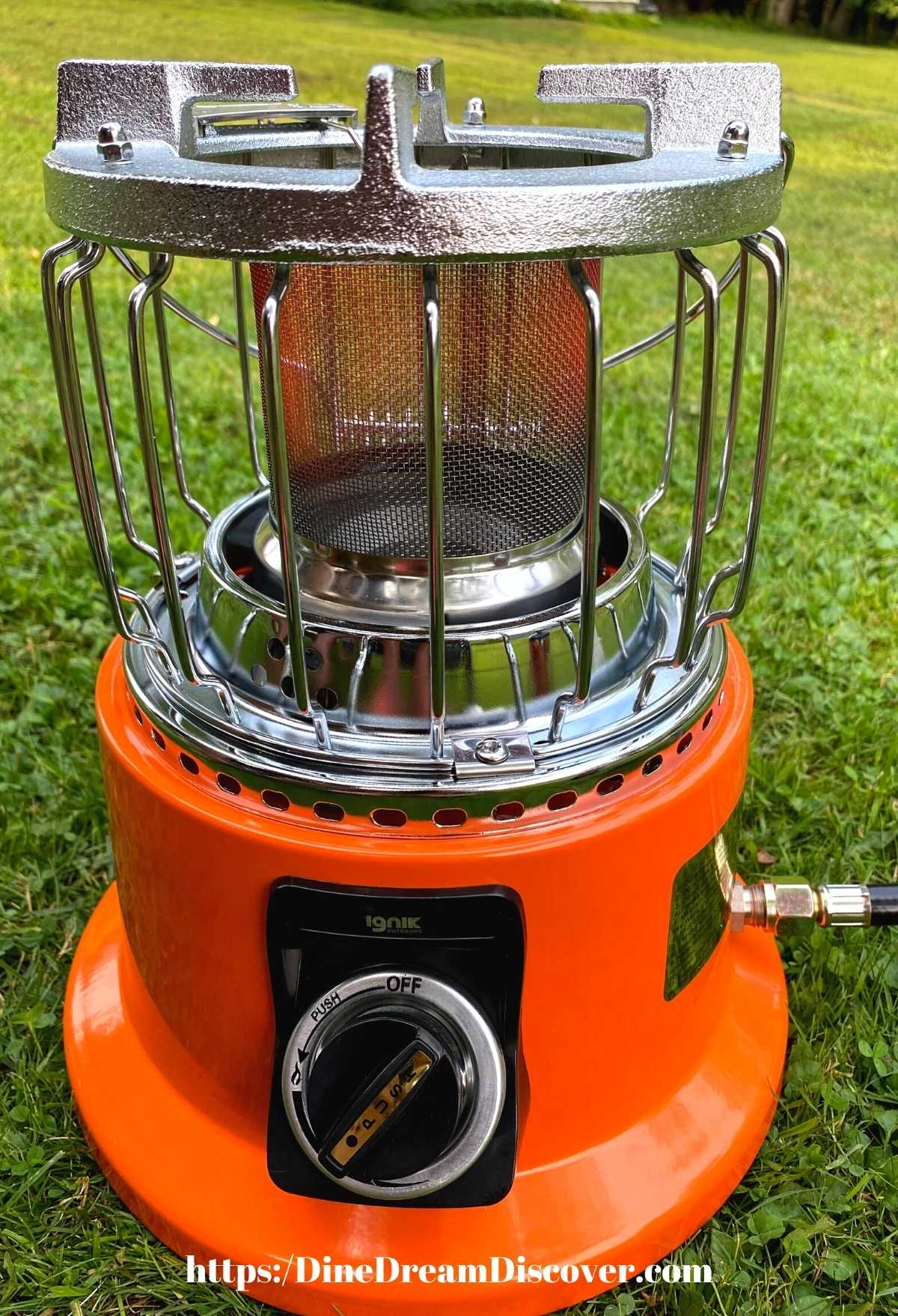 BEST Heat and Eat 2 in 1 Camping Stove Heater