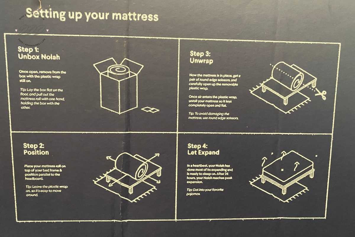 mattress directions