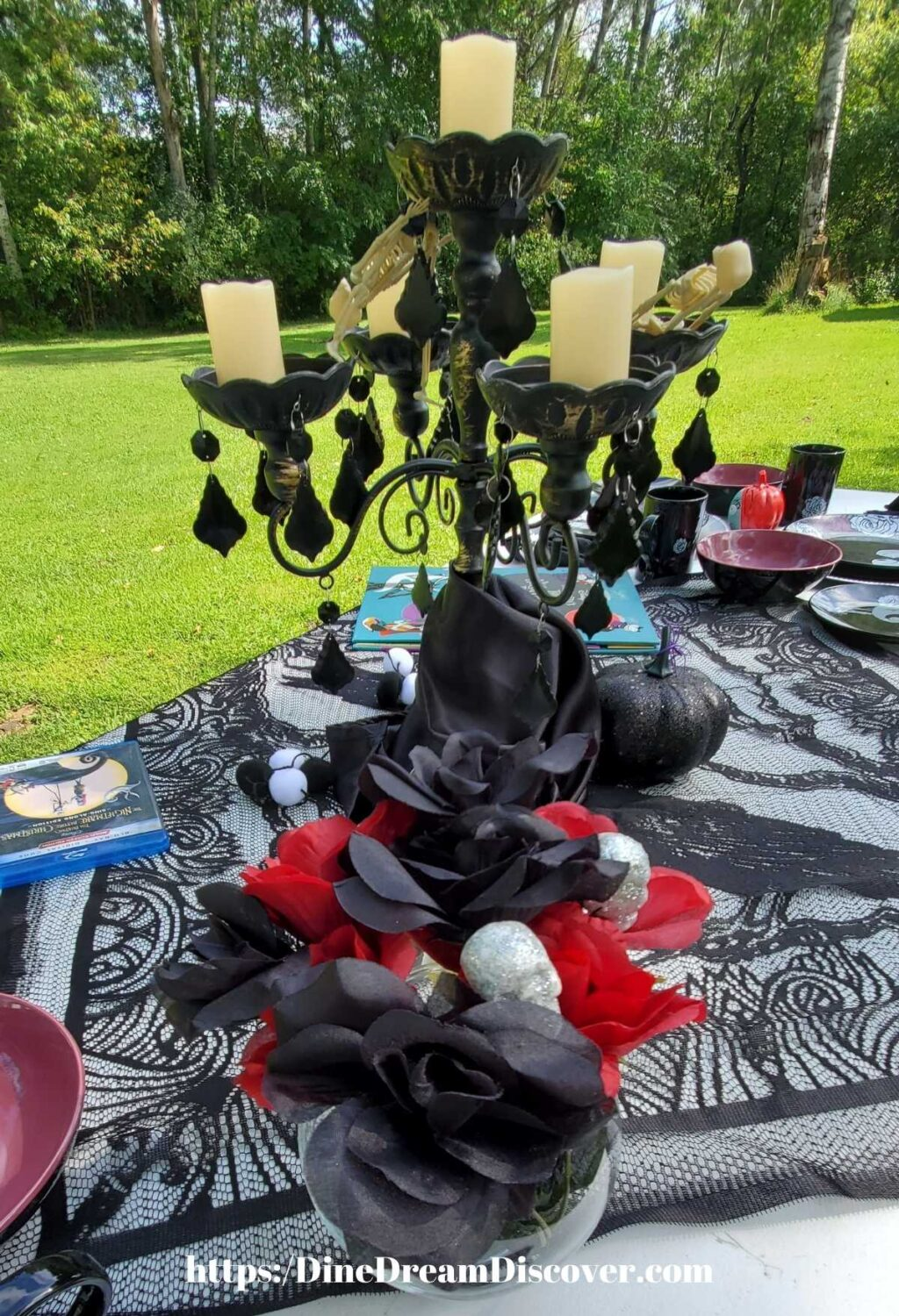 The Nightmare Before Christmas Tablescape and Recipes