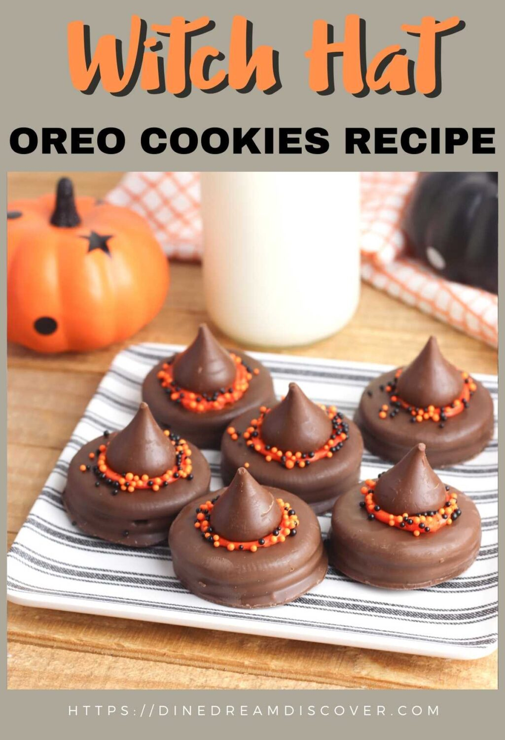 How to Make Witch Hat Oreo Cookies