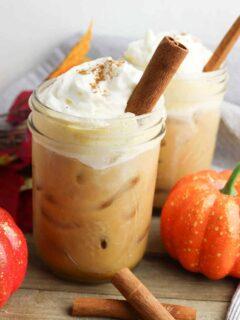 Pumpkin Spiced Cold Brew Coffee Recipe